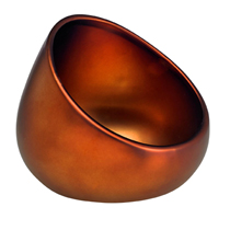 This acoustically designed ceramic boom bowl with premium matte bronze finish amplifies sound by +15 decibels. Place your smart phone or mini smart speaker inside and you'll be amazed by the incredible sound difference. No wires or bluetooth connection necessary. Features a power cord port so you can charge while you play.